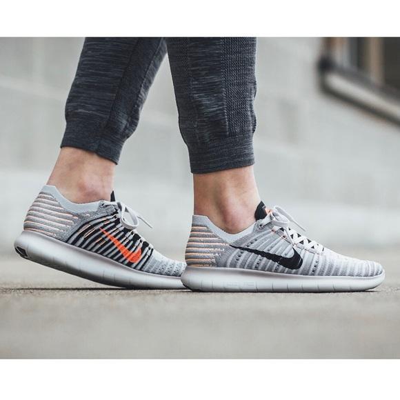 6cd60711c595 New Nike Women s Free Run FlyKnit 831070-005🍑
